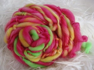 Image of Handspun Superwash Yarn - Pink Winks