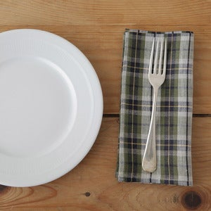 Image of Napkin: Green Plaid