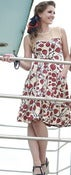 Image of Jackie Dress-Luft Balloons Print