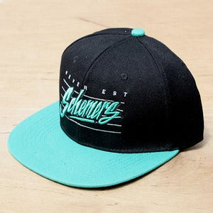 Image of Grand Scheme- Schemers Retro Aqua snapback