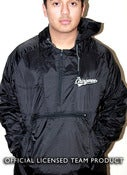 "Image of ""Los Chingones"" All Black Windbreaker"