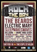 Image of TICKET - Rock the Bay @ The Espy, St.kilda. Sat 16th of Feb