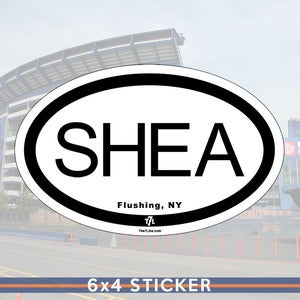 Image of Destination: SHEA (sticker)