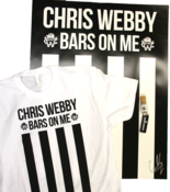 Image of Chris Webby &amp;#x27;Bars And Stripes&amp;#x27; T shirt Package