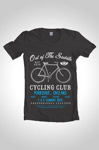 Image of Out Of The Saddle - Signature Downing Gents Cycling T-Shirt