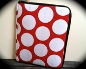 "Image of The ""Commuter"" - Red/White Dots"