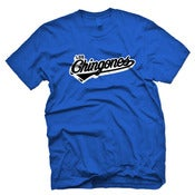 Image of Los Chingones Tee (Blue)