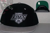Image of Los Angeles Kings Black/Gray Snapback Hat Cap
