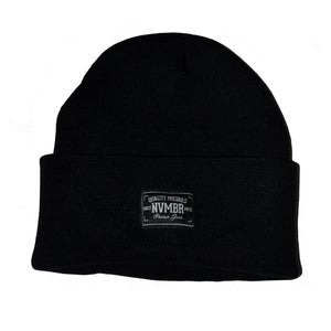 Image of NVMBR - Black Beanie