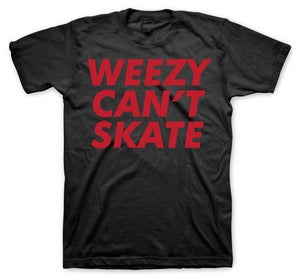 Image of weezy can't skate black