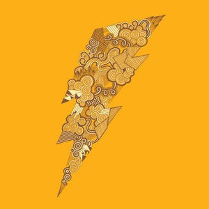 Image of Doodle Bolt (Gold)