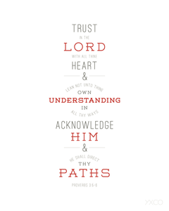 Image of Trust in the Lord - Printable PDF