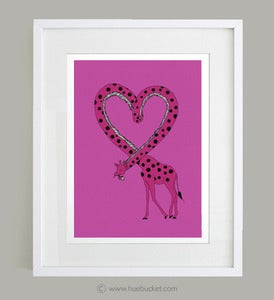 Image of I'm in Love - ART PRINT