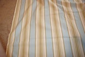 Image of 4.75 Yards of Robert Allen Striped Fabric
