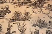 Image of 1.1 Yards of Pierre Deux Black and White Toile