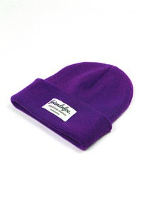 Image of The purple beanie