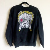 Image of SLOTH Chief Trooper Black Crew Neck Sweater