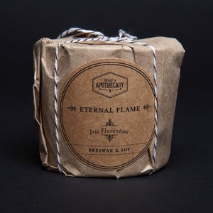 Image of Eternal Flame Candle - Iris Florentine