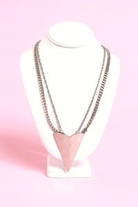 Image of Silver Bolero Chain &amp; Earring Set