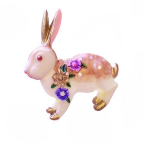Image of Beautiful Bunny Brooch