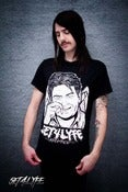 Image of S4L 'SHEENER' BLACK T (Unisex)