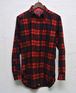 Image of Pendleton wool overshirt (S) #1