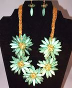 Image of Spring Floral Necklace Set