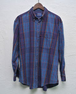 Image of Pendleton plaid shirt (L)
