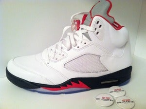 "Image of Air Jordan V (5) ""Fire Red"""