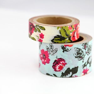 Image of Vintage Floral Washi Tape
