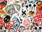 Image of SLOTH Assorted Vinyl Sticker Pack
