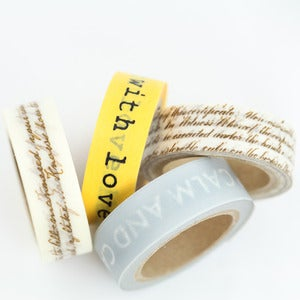 Image of Sending a Message Washi Tape