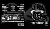 Image of Supreme C - Time To Think EP 1992 SR000021