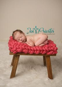 Image of Coral Big Bump Blanket *Devoted Knits Original*