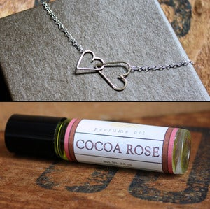 Image of Collaboration - Heart Necklace and Perfume