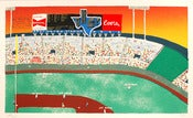 Image of Will Johnson: Old Arlington Stadium Art Print