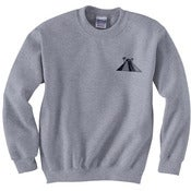 Image of Embroidered CancunLife Crewneck Sweatshirt (grey)