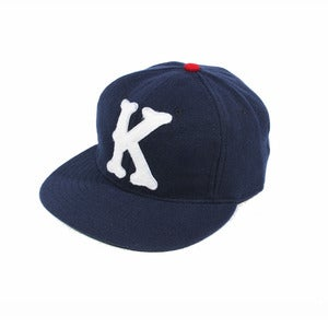Kloud Clothing Co. X Ebbets field flannels Navy cap