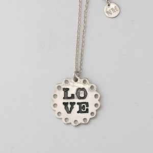 Image of Love Necklace | Silver {30% OFF + FREE SHIPPING}