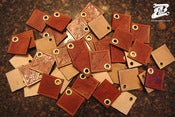 Image of Busch and Busch Leather Key Fobs &quot;Build Life&quot;