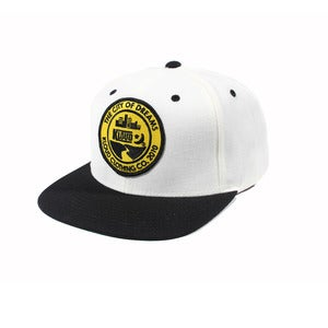 City Of Dreams Snapback White/Blk