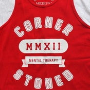 Image of Corner Stoned University tank by Smokers Only