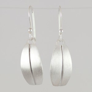 Image of Bridget Clark Modern Leaf Earrings
