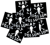 Image of SK8RATS Rat Poison Stickers