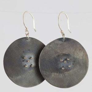 Image of Toki Disc Earrings
