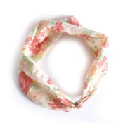 Image of Sera Vintage Floral Headscarf