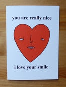 Image of Love card - i love your smile