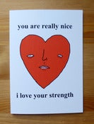 Image of Love card - i love your strength