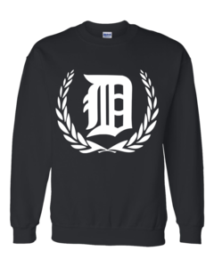 Image of D LOGO CREW NECK SWEATER