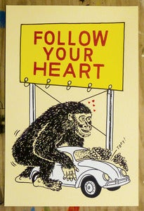 "Image of ""Follow your Heart"" art print"